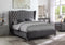 Ramiro Bed Frame - Grey - Queen/King - The Fine Furniture