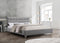 Sylvie Bed Frame - Light Grey - Double/Queen - The Fine Furniture