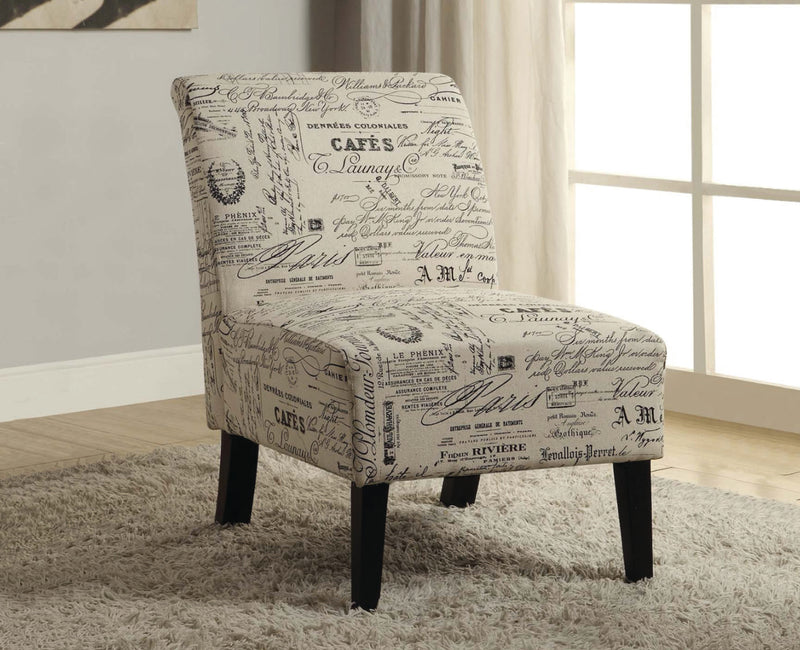 Sara Accent Chair - Beige - The Fine Furniture