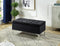 Amiya Storage Bench - Black - The Fine Furniture