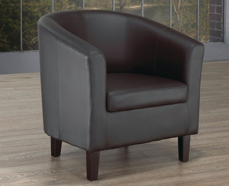 London Accent Chair - Black - The Fine Furniture