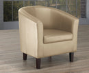 London Accent Chair - Taupe - The Fine Furniture