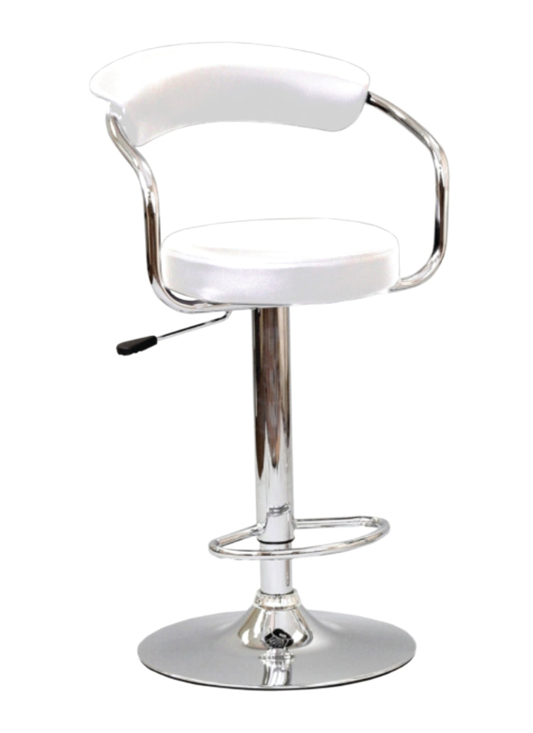 Gracelynn Bar Stool - White (Set of 2) - The Fine Furniture