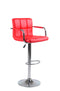 Reed Bar Stool - Red Stool (Set of 2) - The Fine Furniture