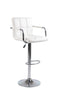 Reed Bar Stool - White Stool (Set of 2) - The Fine Furniture