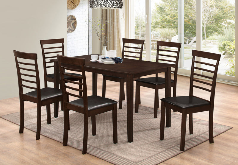 Leo 7pc Dining Set - The Fine Furniture