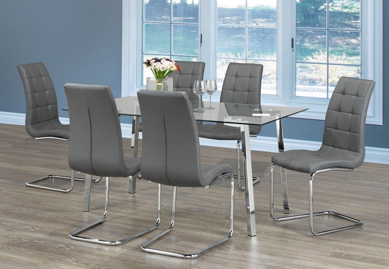 Danny 7pc Dining Set - The Fine Furniture
