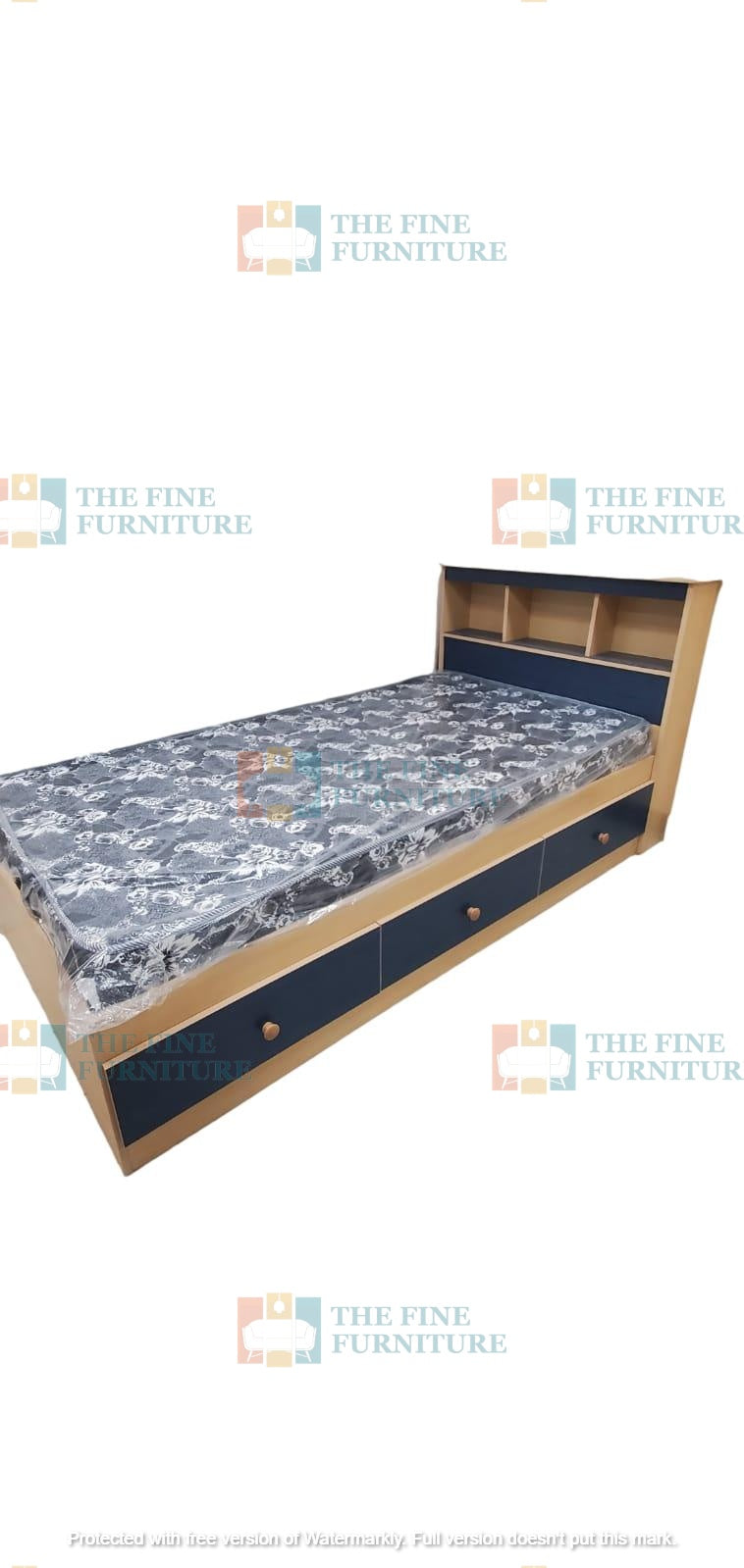 Kyree Kids Bed - Single/Double/Queen - The Fine Furniture