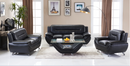 Kinsley Modern Leather Series - Black - The Fine Furniture