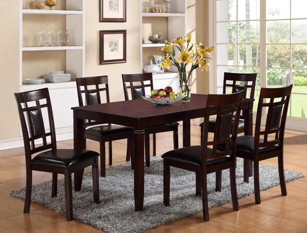 Rex 7pc Dining Set - The Fine Furniture