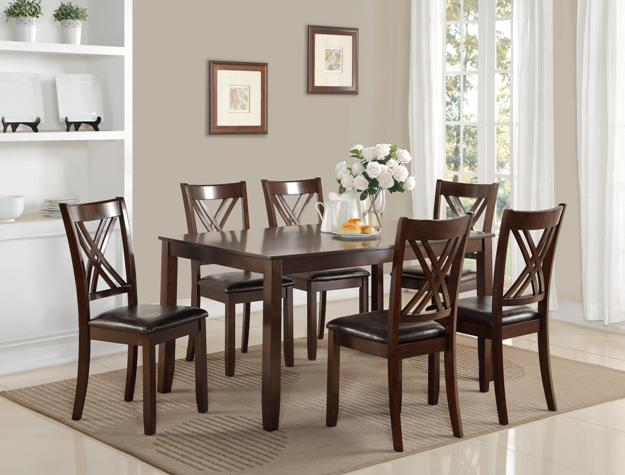 Grant 7pc Dining Set - The Fine Furniture