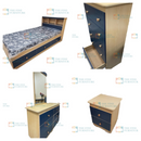 Kyree Kids 7pc Bedroom Set - Single/Double/Queen/King - The Fine Furniture
