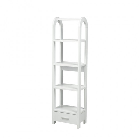 Corbin Display Shelf - White - The Fine Furniture