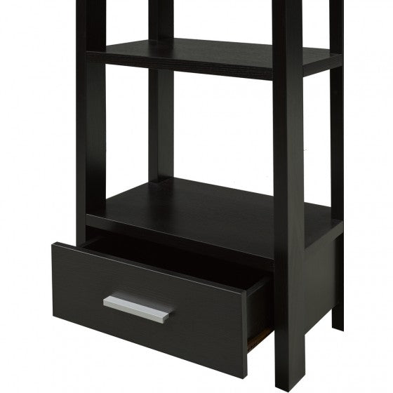 Corbin Display Shelf - Black - The Fine Furniture