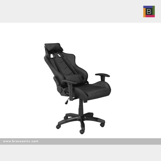 Finnegan Office Chair - Black - The Fine Furniture