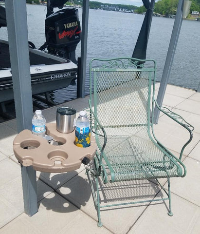Dock Mounted Table