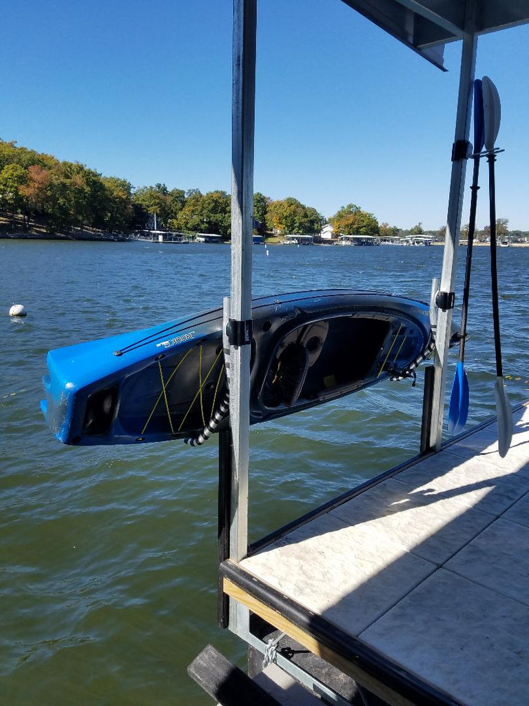 Kayak And Canoe Holder Boat Dock Mounted