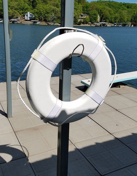 Light Duty Holder - Hose, Power Cord, Throw Ring - Dock Essentials