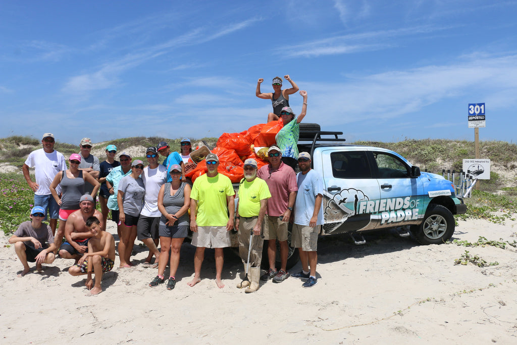 Friends of Padre Beach Cleanup 7/09/2016