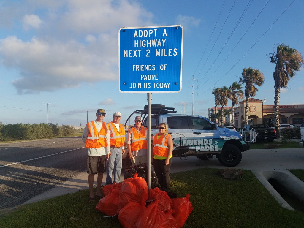 Friends of Padre Adopt-A-Highway 6/15/2017