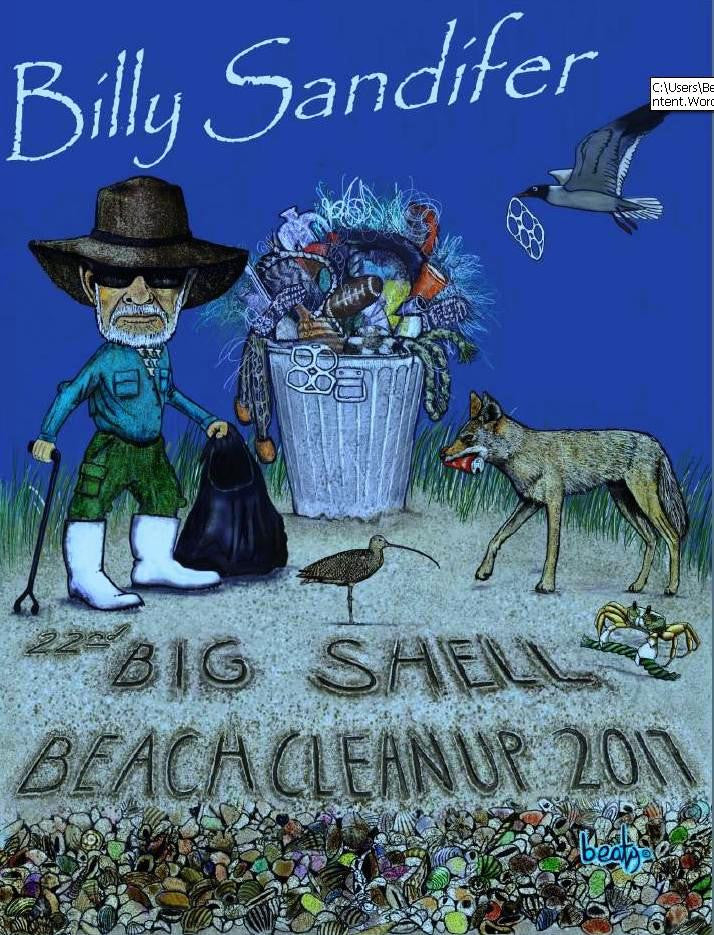Here's This Year's 2017 Cleanup T-shirt Design!