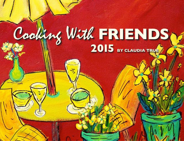 2015 Cooking with Friends Calendar