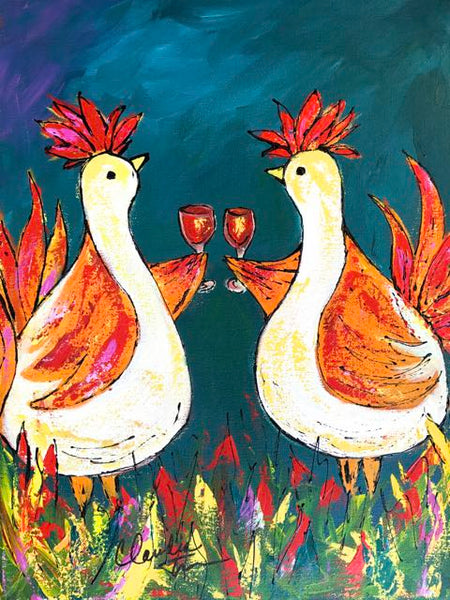 Party Chickens!