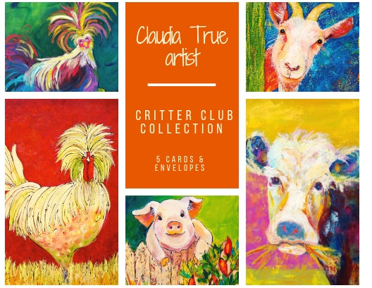 Critter Club Greeting Cards