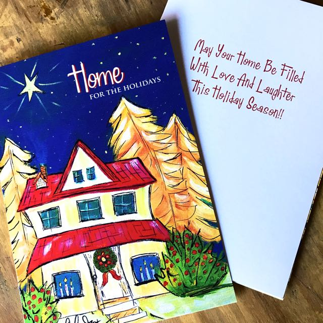 Christmas Cards - Home for the Holidays