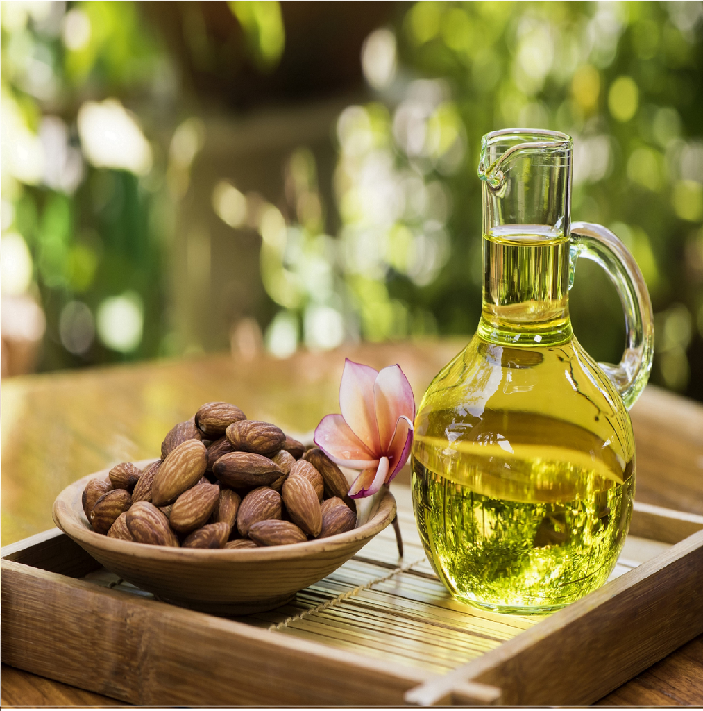 Organic Sweet Almond Oil For Silky Smooth Hair And