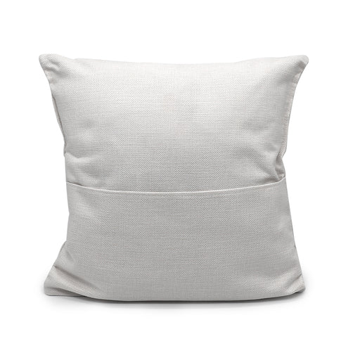 "Sublimation Pocket Pillow Cover 15.7"" X 15.7"""