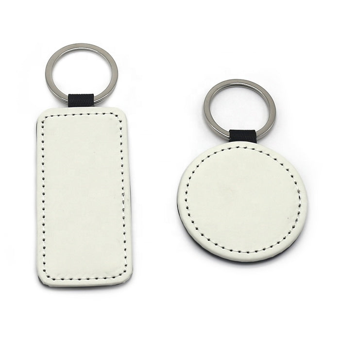 Sublimation Leather Keychain