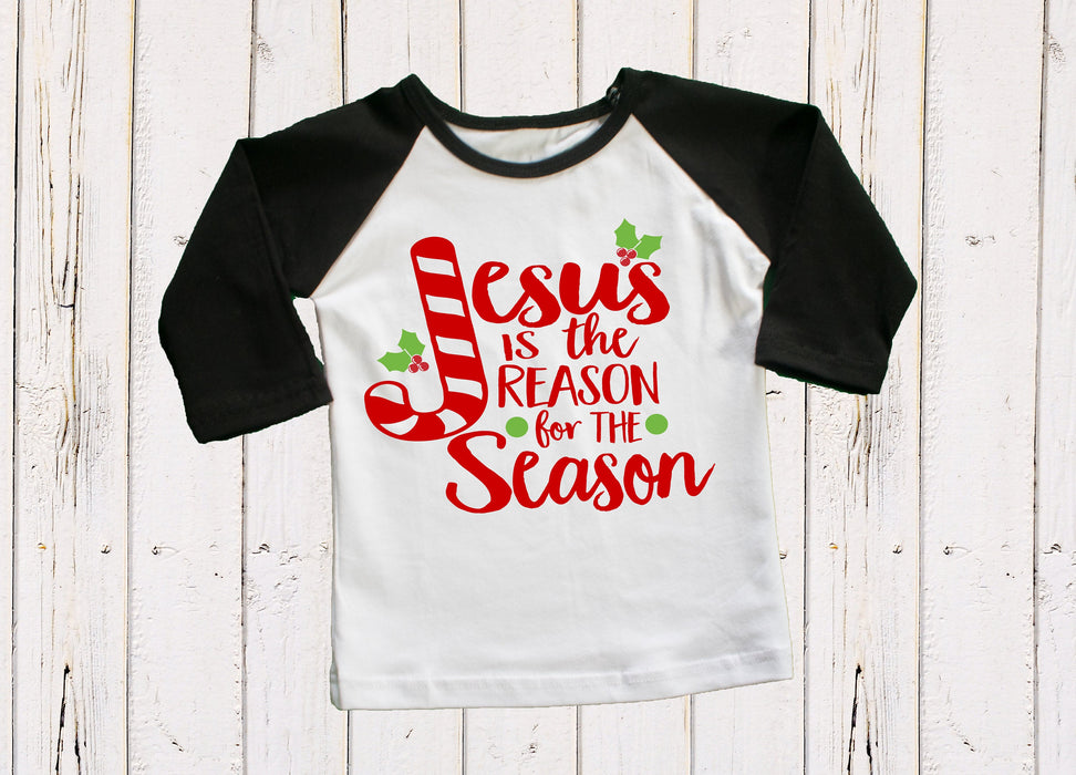 Christmas Outfit, Jesus Is The Reason For The Season, Christmas Shirt, Baby Christmas Outfit, Christian Christmas Outfit, Christmas Baby
