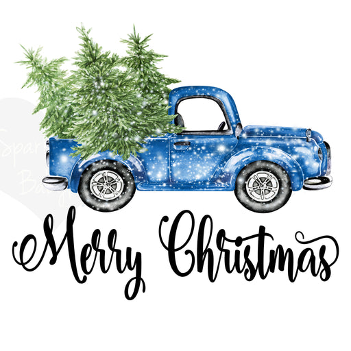 Merry Christmas Tree Truck Holiday Decals, Christmas Truck Decal, Christmas design, Merry Christmas Decal, Christmas Tree Truck