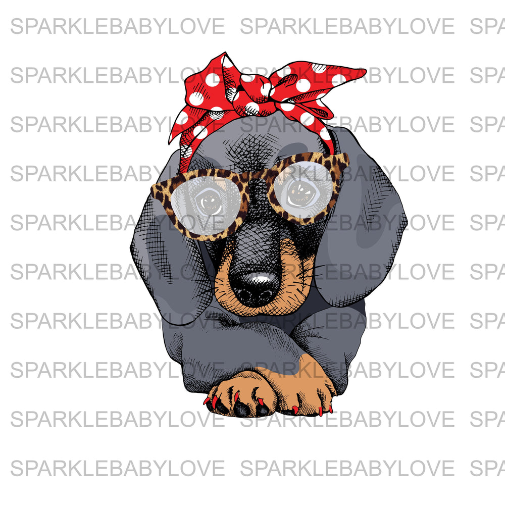 Dachshund Ready to press DIY iron on, Sublimation transfer, Ready to Press, Iron on Ready, htv printed,  Iron on Transfer