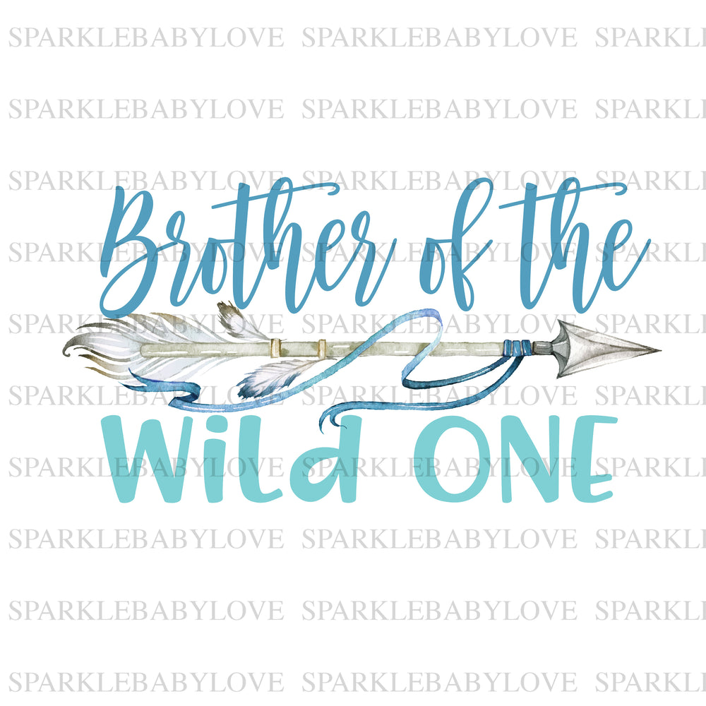 Brother of the wild one Birthday Iron On Ready To Press Transfer, brother of the wild One Heat Transfer Vinyl, Iron On Transfer