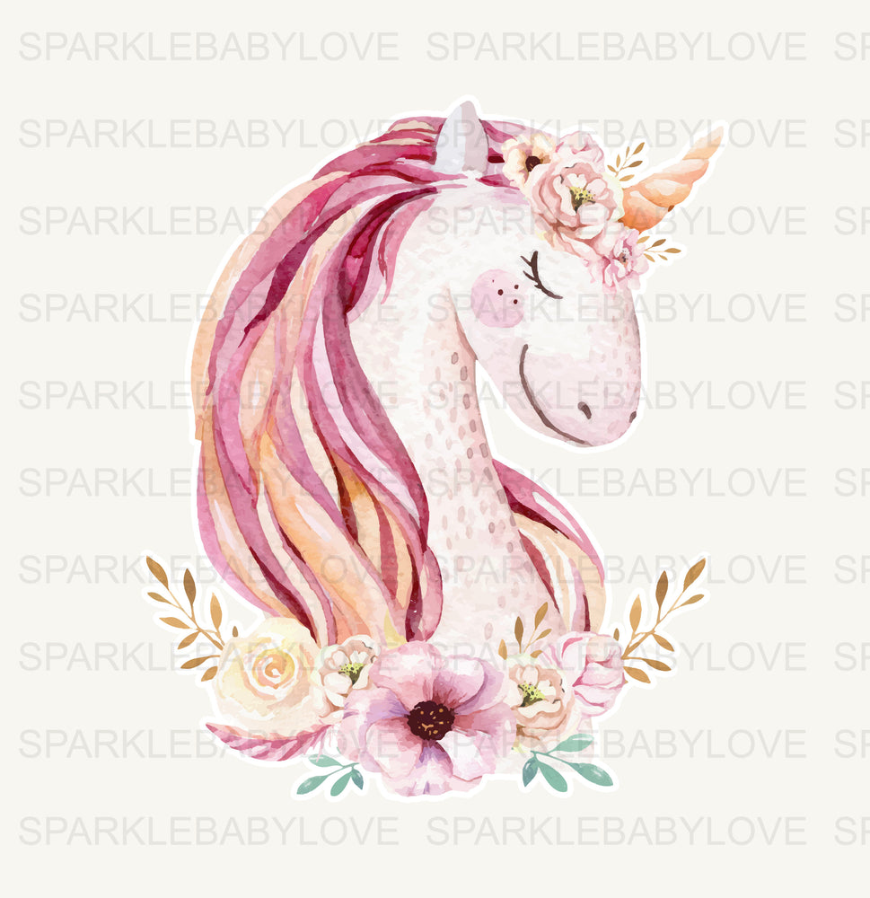 Unicorn Decal, Car Decal, Yeti Decal, Tumbler Decal, Cactus car Decal, unicorn laptop decal, mug decal,Bulldog mom yeti decal
