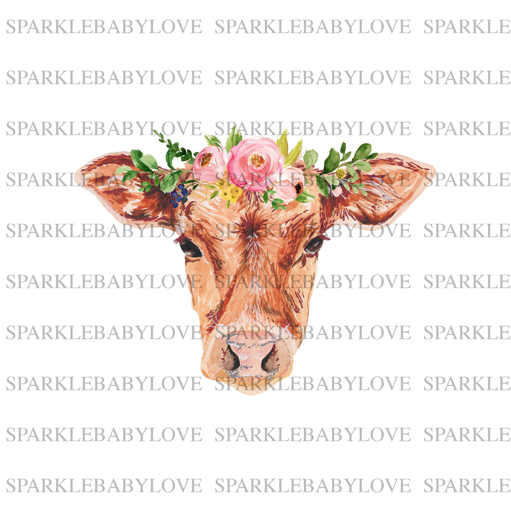 Sublimation Transfer Leopard Watercolor bull Skull Sublimation Transfer Leopard Bull Skull Boho Iron on Ready To Press Transfer