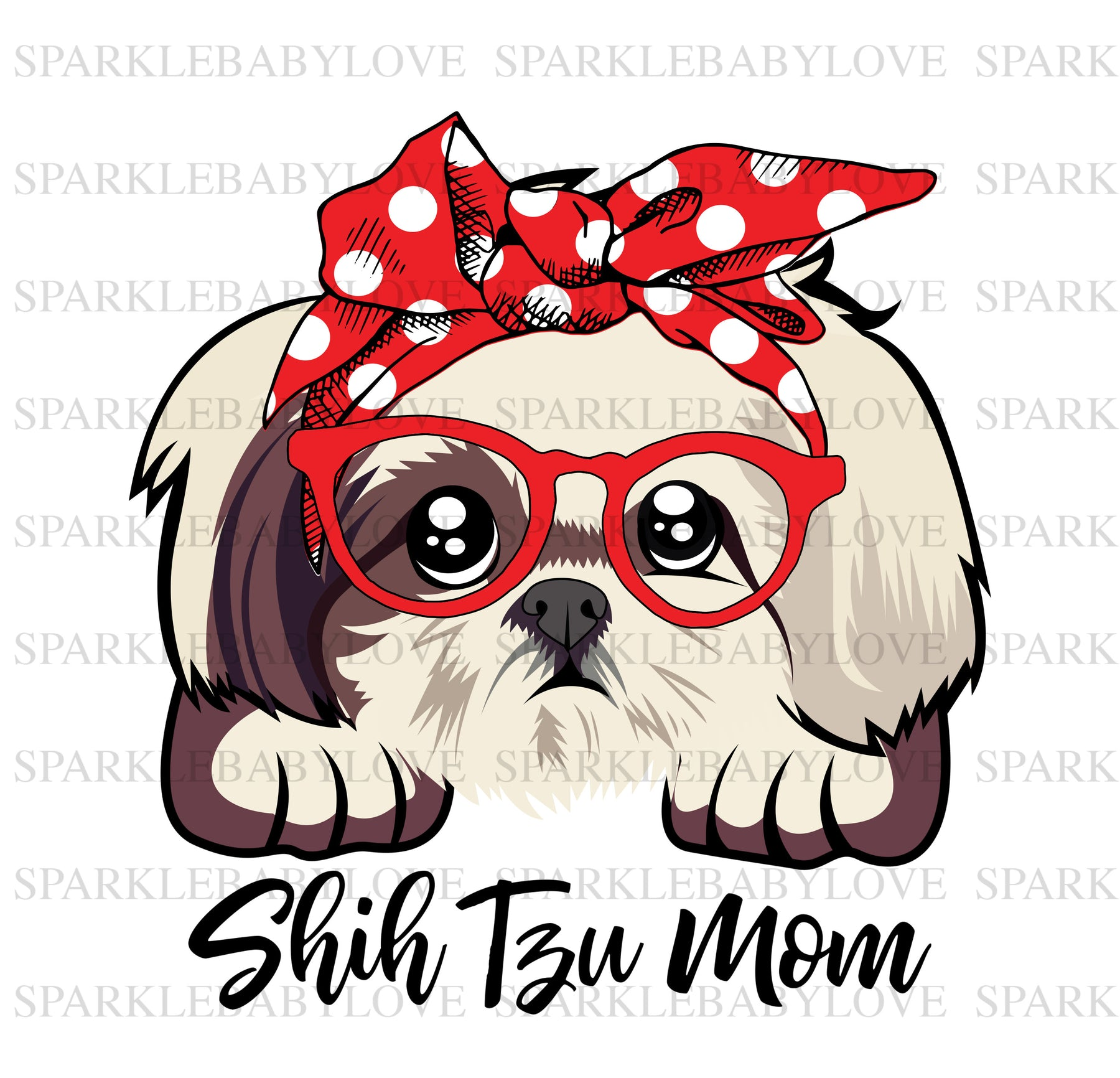 Shih  tzu mom Decal, Car Decal, Yeti Decal, Tumbler Decal, Shih tzu Decal, Dog decal, dog car decal, dog lover decal