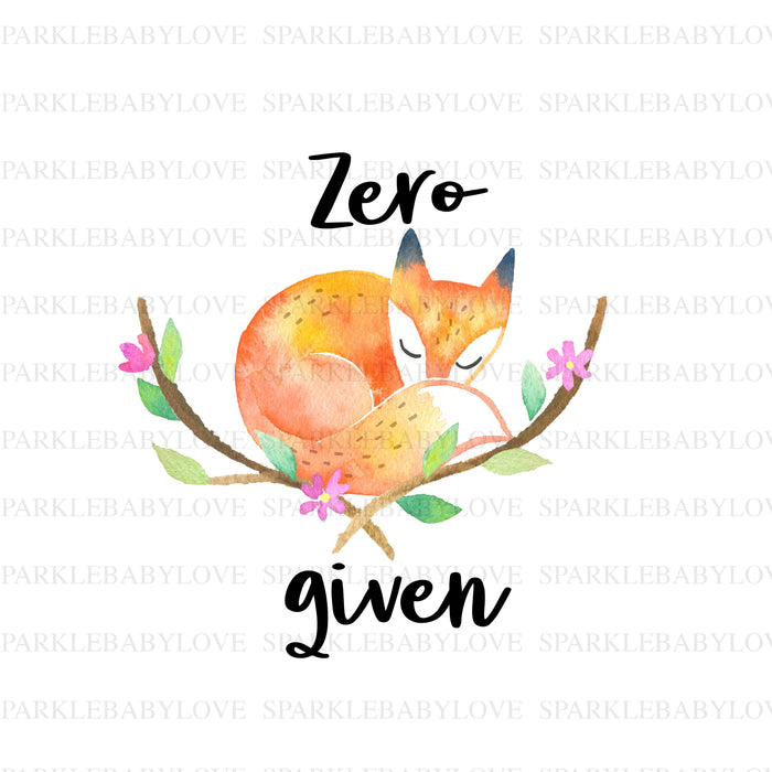 Zero fox given iron on  DIY iron on,Sublimation transfer, Ready to Press, Iron on Ready, Thankful and blessed, Iron on Transfer