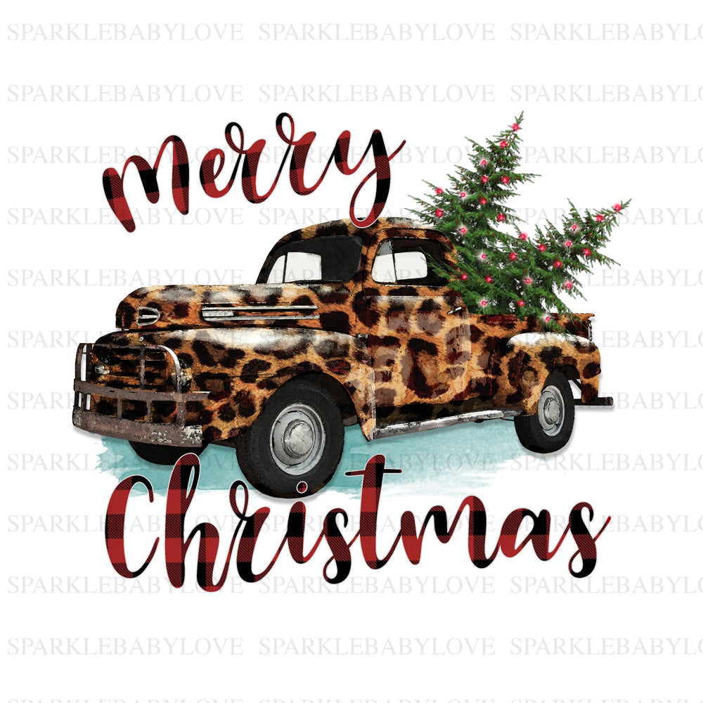 Merry christmas camper Sublimation Merry Christmas Tree Truck Holiday Iron On Ready To Press, Christmas design, Merry Christmas Iron on