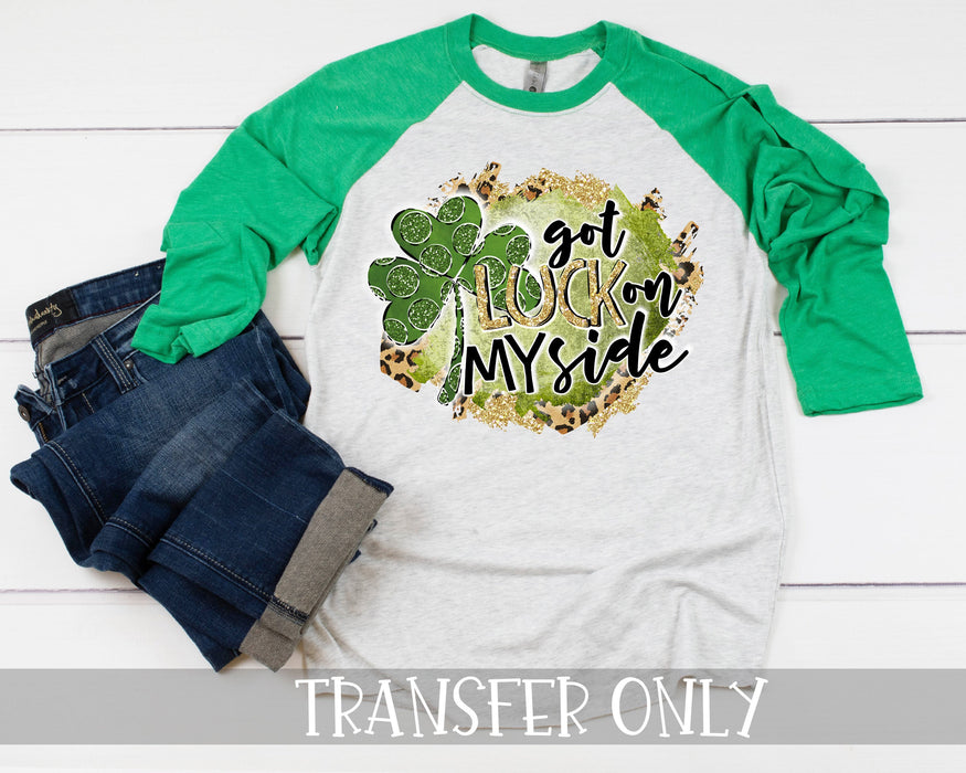 St. Patrick Iron On Ready To Press Transfer, Irish sublimation design, Irish sublimation transfer Iron on, Red Truck Valentines Day Iron on