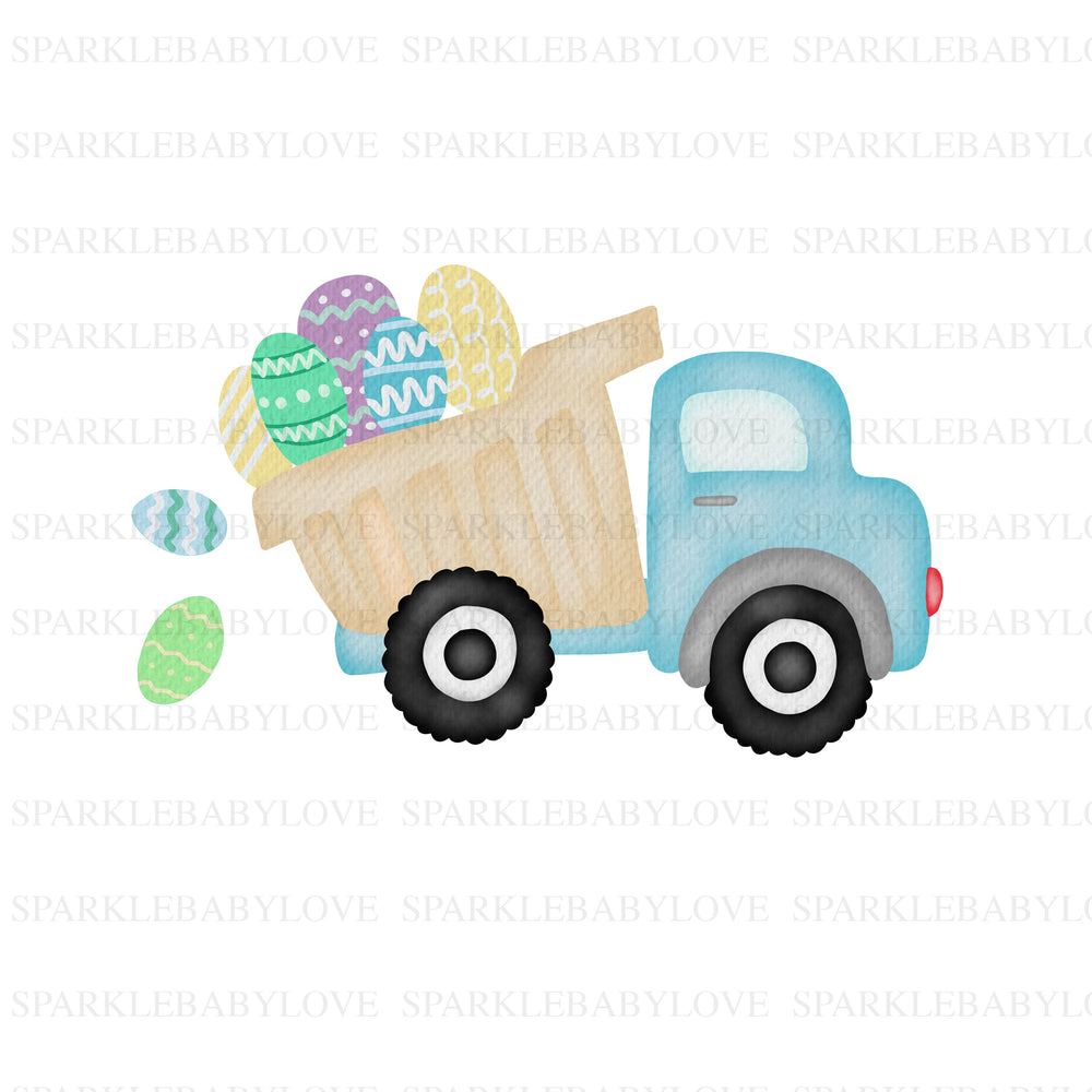 Easter Truck Iron on, easter sublimation transfer DIY iron ons, Ready to Press, Iron on Ready, easter sublimation transfer