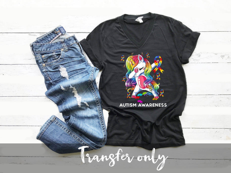 Autism Awareness, DIY iron on,Sublimation transfer, Ready to Press, Iron on Ready, htv printed, Thankful and blessed, Iron on Transfer