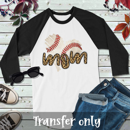 Baseball Mom Iron On Ready To Press Transfer, Baseball Mom Sublimation transfer design, Baseball Iron on, Sublimation Transfer