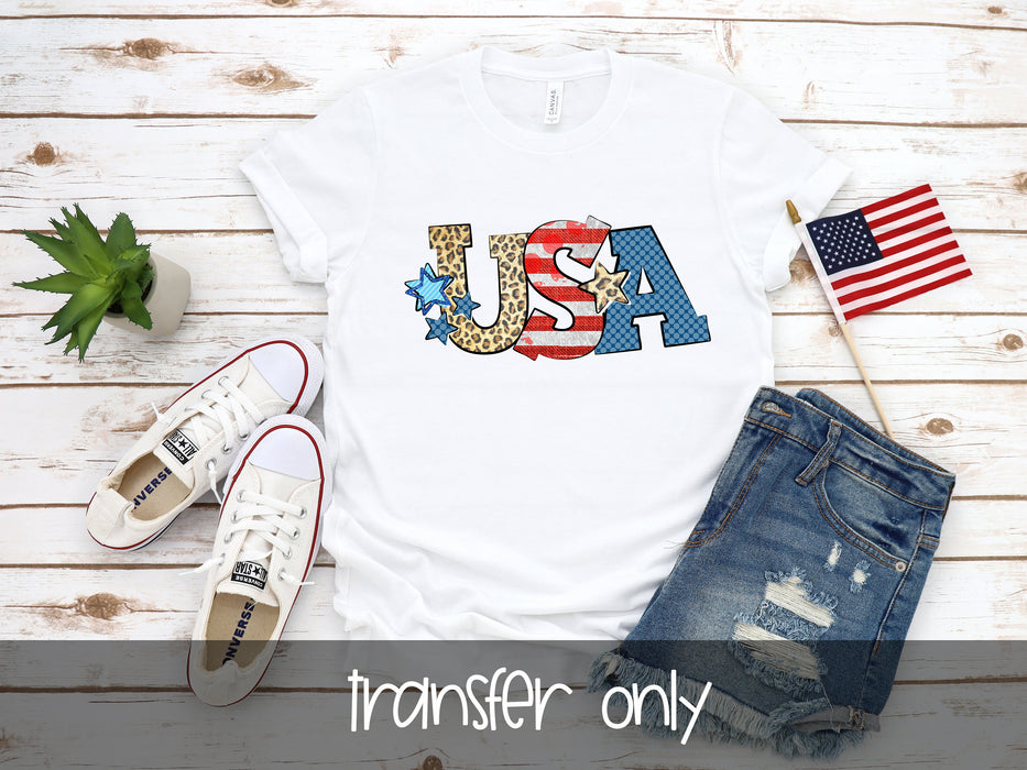 USA Fourth of July Sublimation Transfer Ready to press, Sublimation transfer, Ready to Press, Iron on Ready,  Sublimation Transfers
