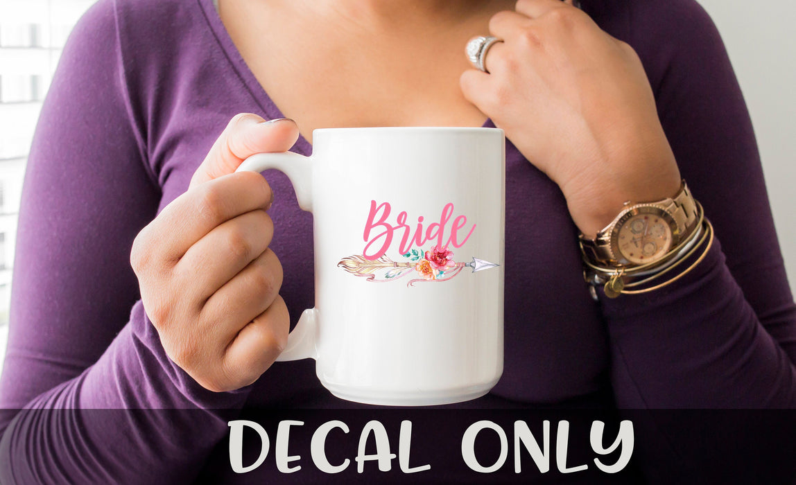 Bride Decal, Chaos coordinator Mug Decal, Blessed Momma Yeti Decal Car Decal, Yeti Decal, Tumbler Decal, Camper Decal,
