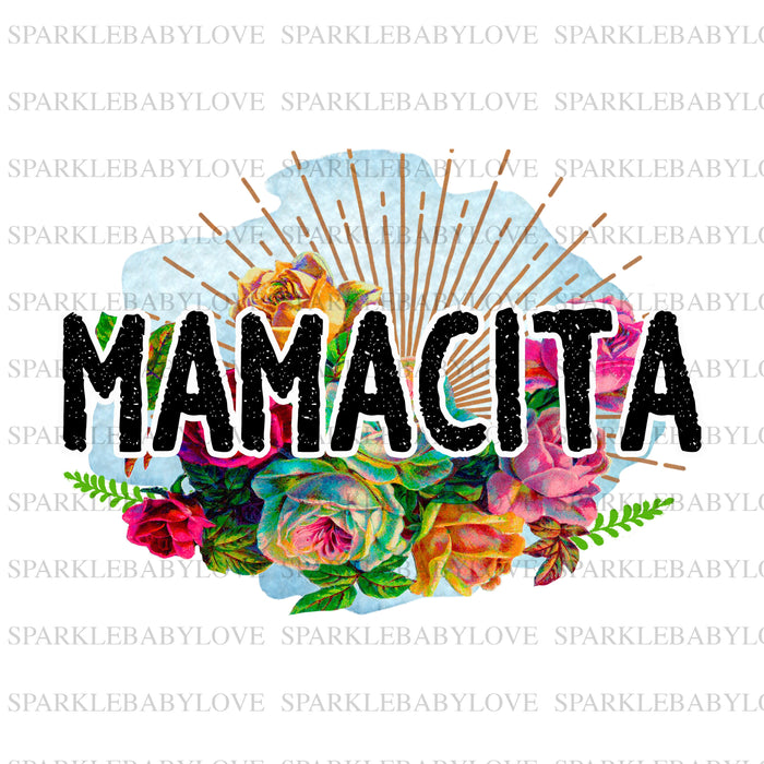 Mamacita  sublimation transfer, Mamacita iron on, Fall image transfer, Ready to Press, Thankful and blessed