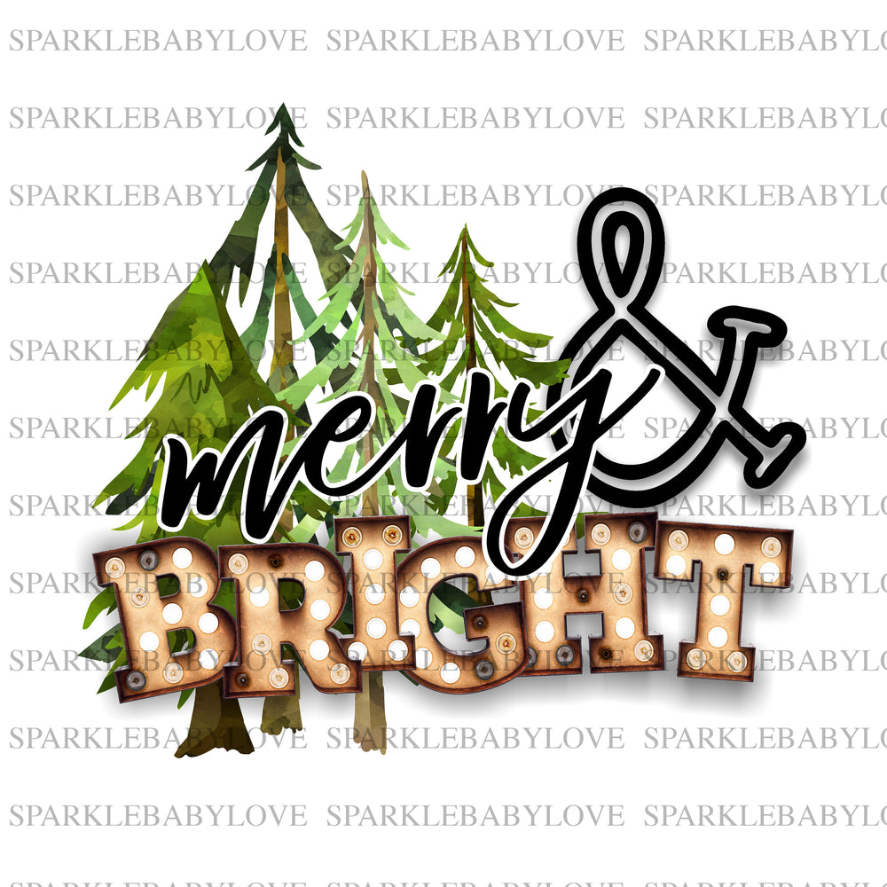 Merry and Bright, Christmas Tree Truck Holiday Iron On Ready To Press Transfer Christmas design, Merry Christmas Iron on, Christmas Tree