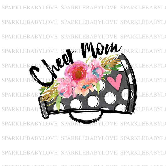 Cheer Mom iron on, Cheer mom Sublimation transfer Iron on Ready, Cheerleadingl sublimation transfer